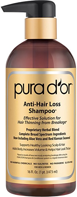 thinning hair products that work