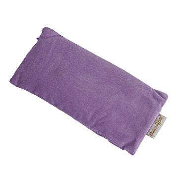 silk eye pillow lavender