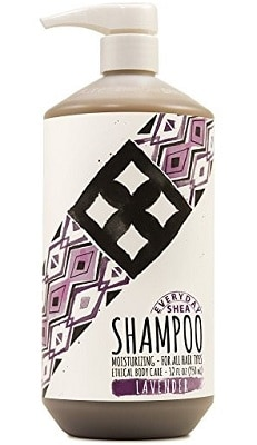 shea moisture shampoo for curly hair
