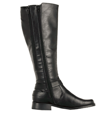 made to measure long leather riding boots