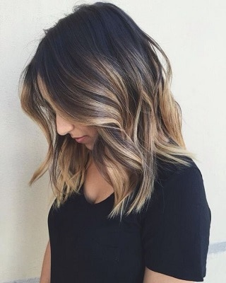 best dark ombre for short hair