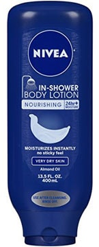 best in shower lotion