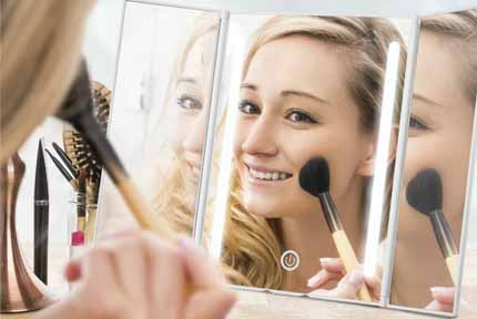 best lighted makeup mirror 2018