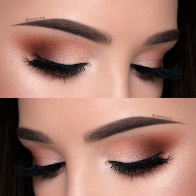 natural smokey eye for green eyes