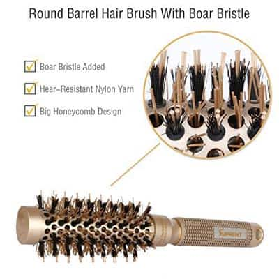 best boar bristle round brush