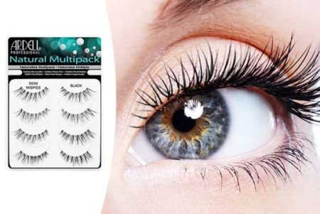 natural looking false lashes