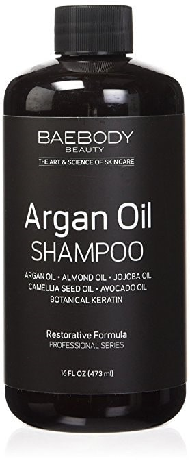 shampoos with argan oil